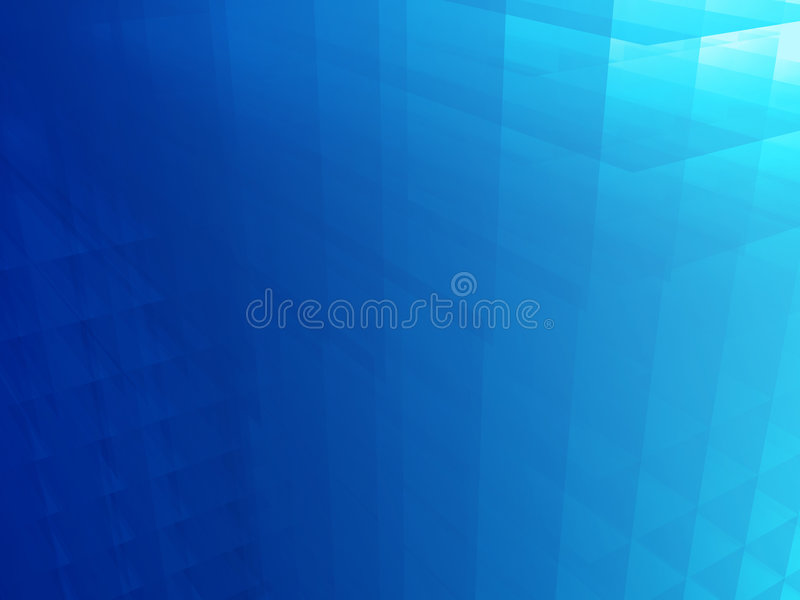 O azul aglomera o fundo ilustração do vetor