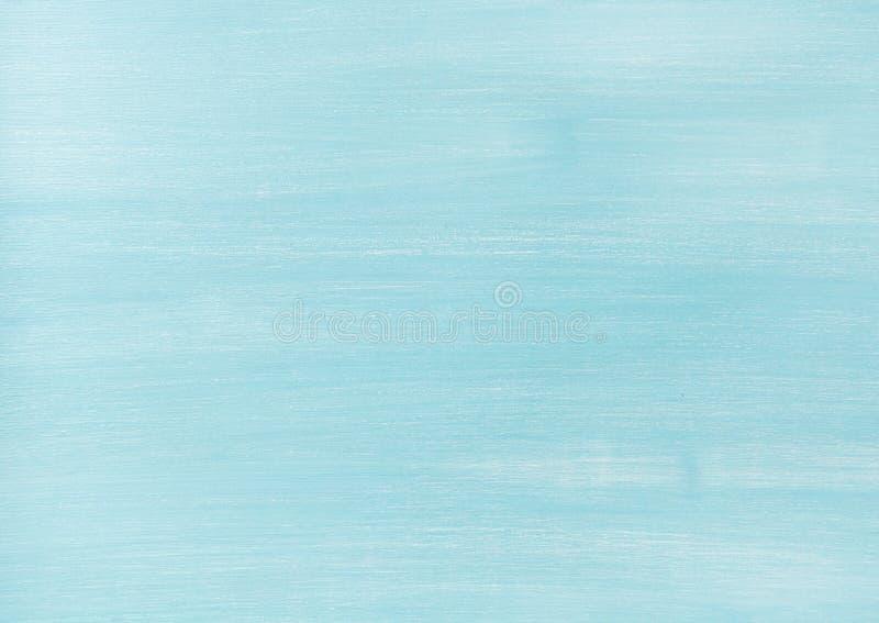 O azul desvaneceu-se textura, fundo e papel de parede de madeira pintados foto de stock royalty free