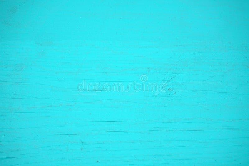 O azul desvaneceu-se textura, fundo e papel de parede de madeira pintados Composição horizontal foto de stock royalty free