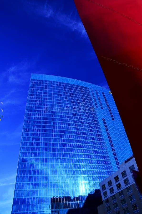 O azul grande fotografia de stock royalty free