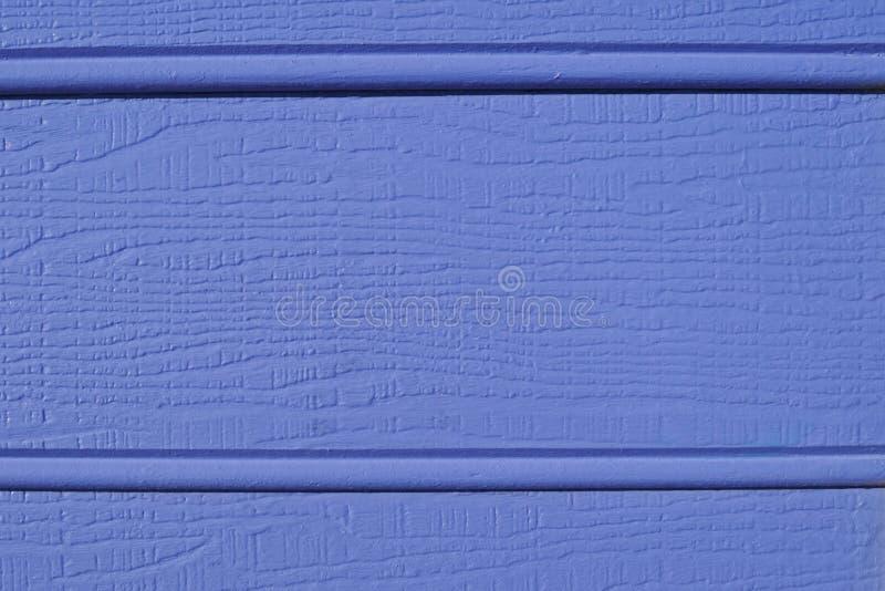 O azul weatherboard a textura imagens de stock royalty free