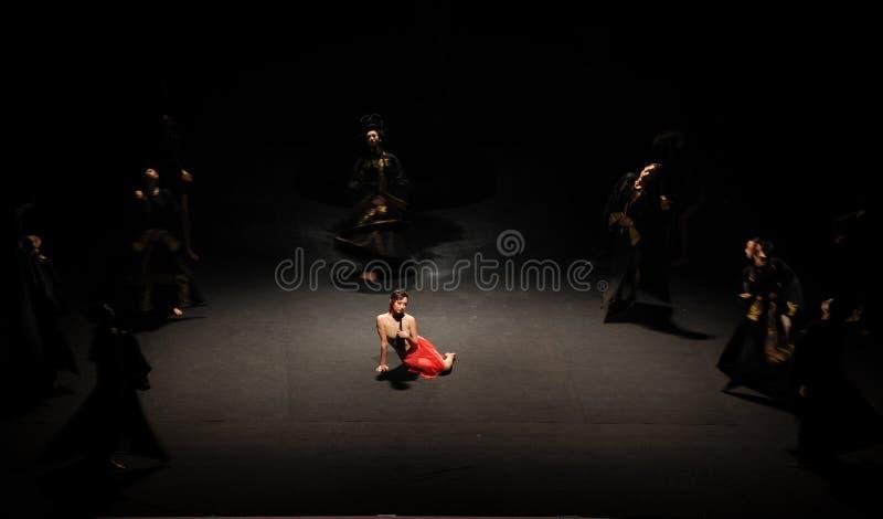 O bailado compressão-moderno tradicional: Trollius chinensis imagens de stock