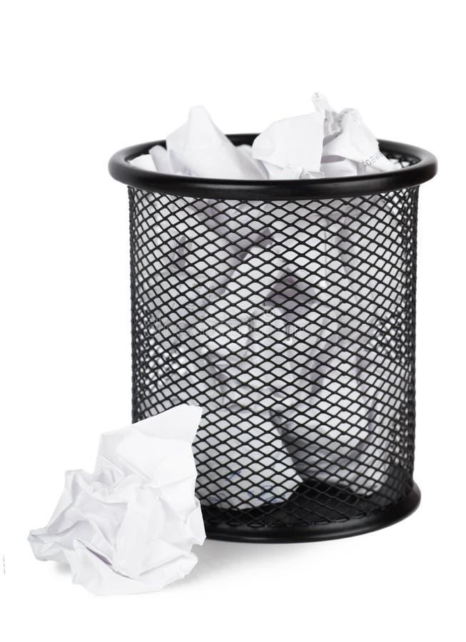 Download Balde do lixo imagem de stock. Imagem de preto, fundo - 29845835