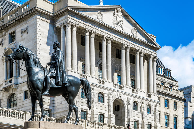 O Banco do Inglaterra imagem de stock royalty free