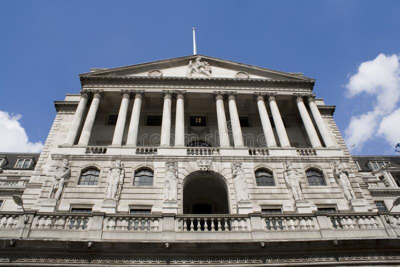 O Banco do Inglaterra fotos de stock