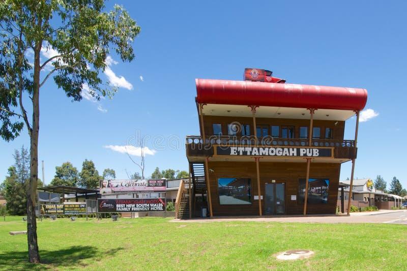 O bar de Ettamogah, Kellyville Ridge, Novo Gales do Sul, Austrália imagem de stock