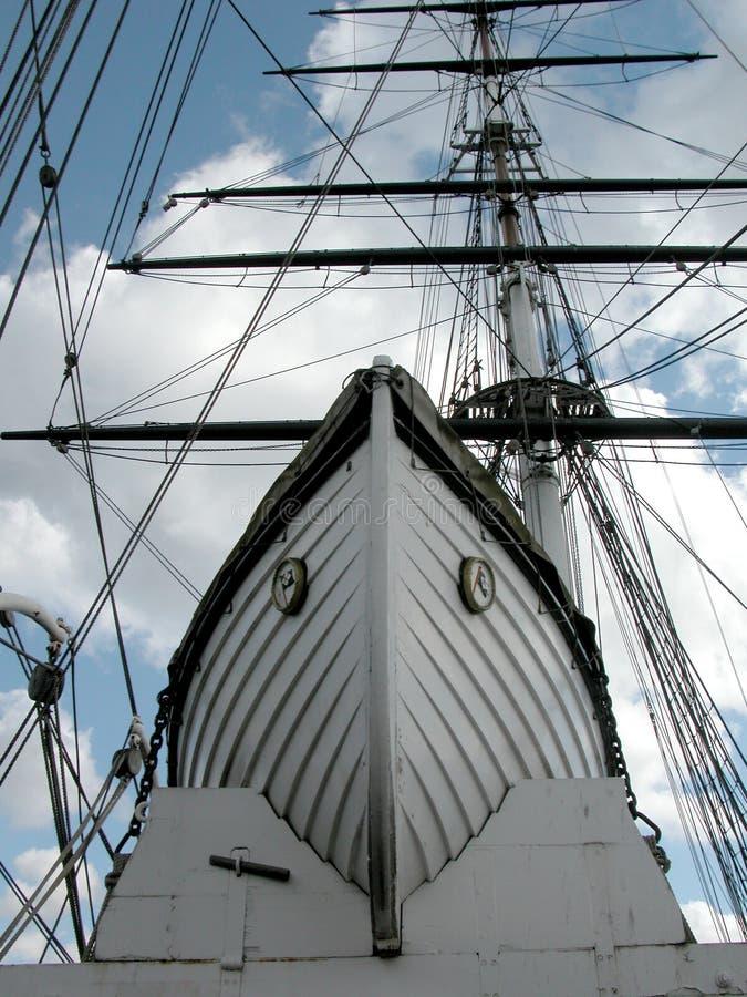 O barco fotografia de stock