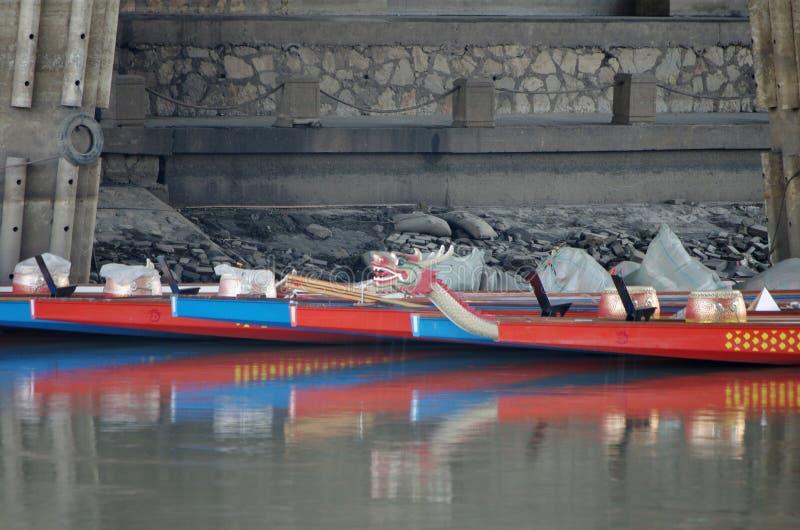 O barco do dragão foto de stock royalty free