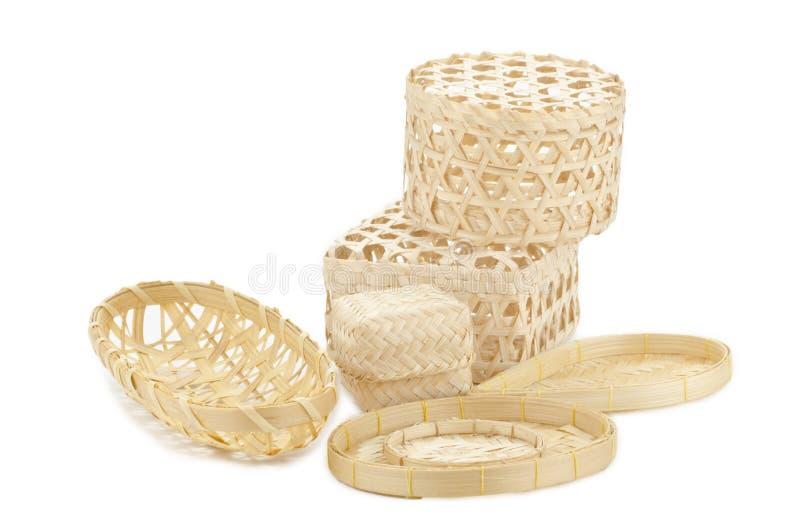 O basketry tailandês fotografia de stock royalty free