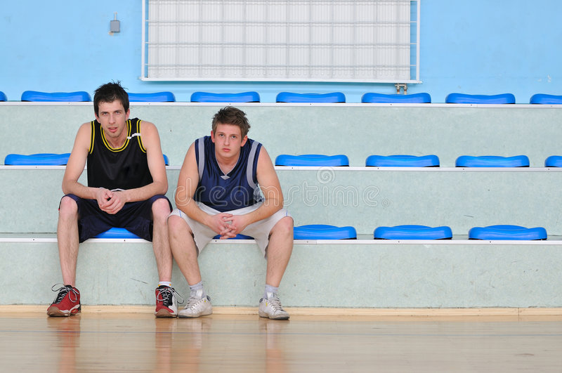 O basquetebol relaxa imagem de stock royalty free