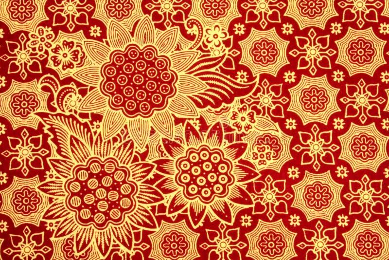 O Batik ilustração stock