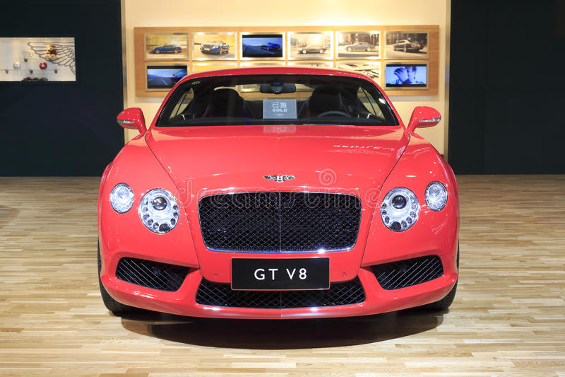 O bentley GT continental nova v8 foto de stock