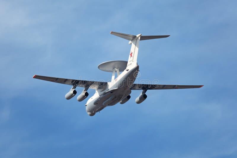O Beriev A-50 (essencial conhecido da OTAN) imagens de stock