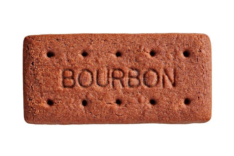 O biscoito de Bourbon, cortou imagens de stock royalty free