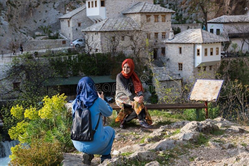 O Blagaj Tekkie em Bósnia e em Herzegovina imagens de stock