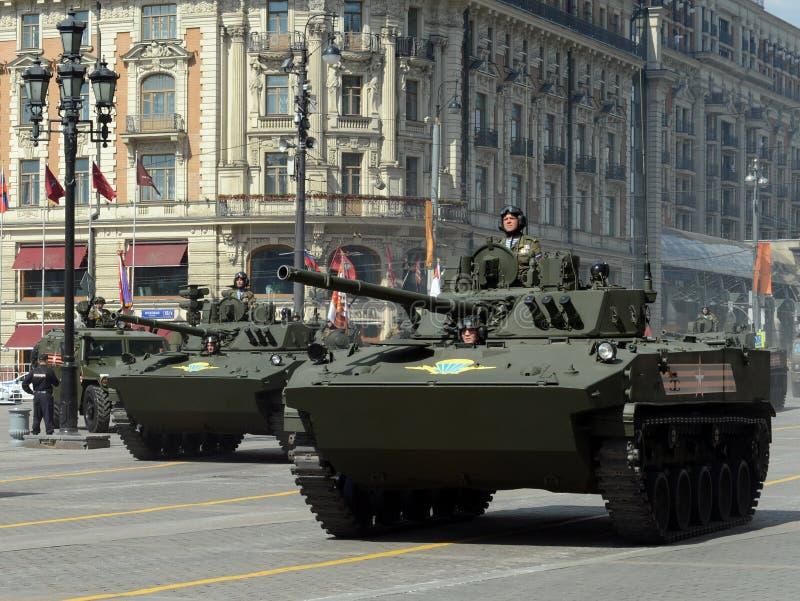 O BMD-4M Combat Vehicle do transportado por via aérea é uma viatura de combate anfíbia da infantaria (IFV) foto de stock royalty free