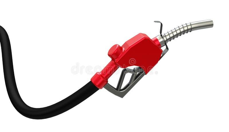 O bocal de combustível ilustração do vetor