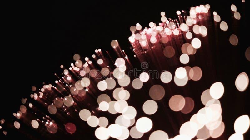 O bokeh do encanto ilumina o fundo com espaço da cópia imagem de stock royalty free