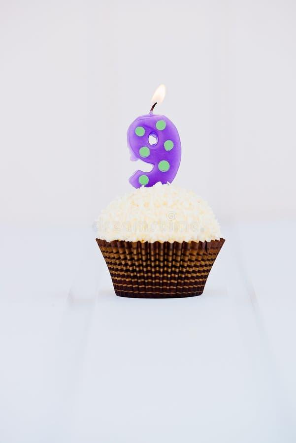 O bolo de aniversário para o primeiro aniversário imagem de stock royalty free