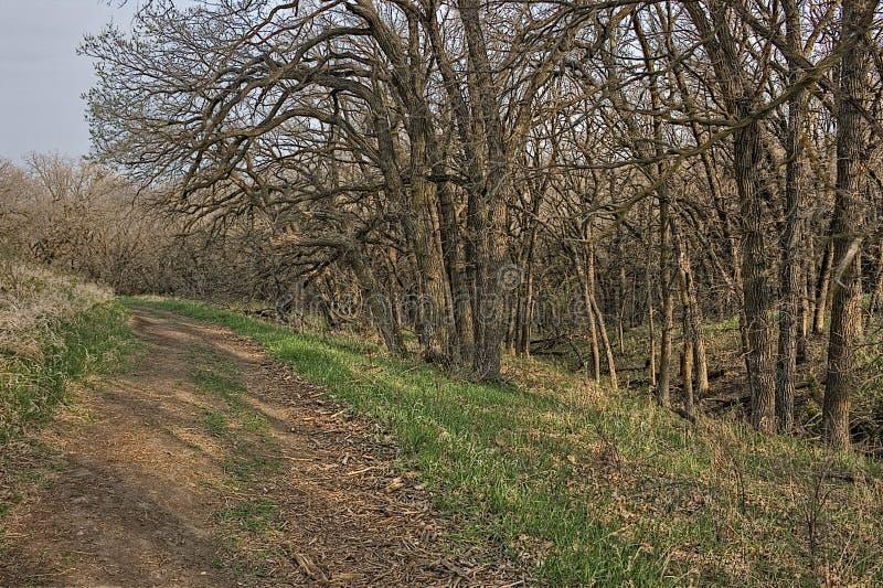 O bom parque estadual da terra é um parque estadual urbano na borda de Sioux Falls, área do metro de South Dakota foto de stock royalty free