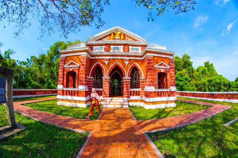 O bonito de Sala Phra Wihan Daeng foto de stock