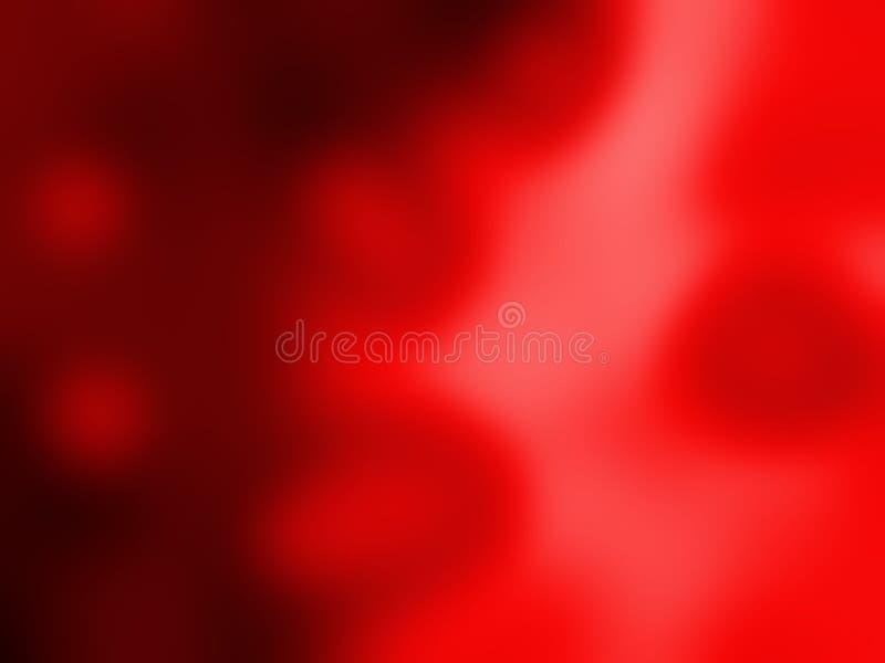 O borrão vermelho derramou o papel de parede do fundo do vetor de 3 d ilustração royalty free
