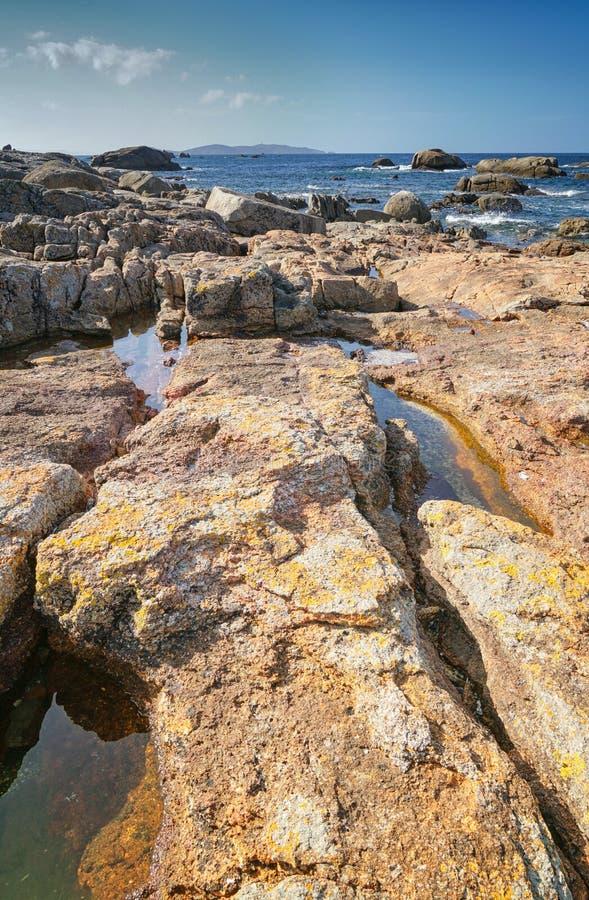 O Bosje, Galicië, Spanje stock foto