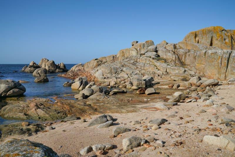 O Bosje, Galicië, Spanje royalty-vrije stock foto's