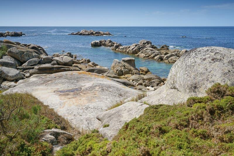 O Bosje, Galicië, Spanje stock fotografie