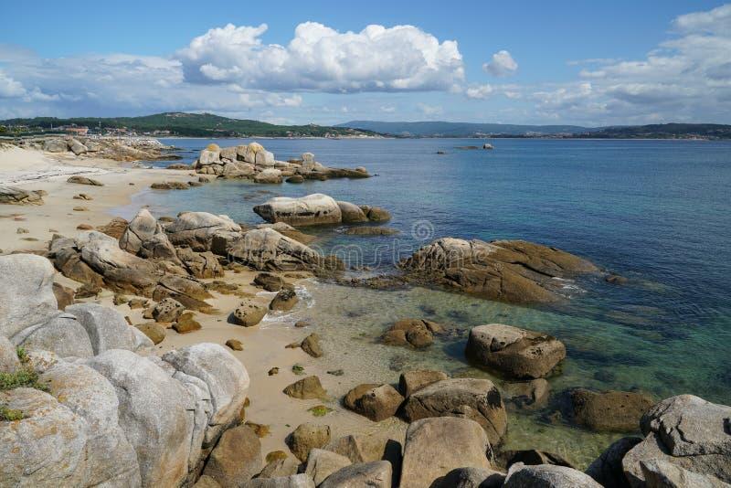 O Bosje, Galicië, Spanje royalty-vrije stock foto