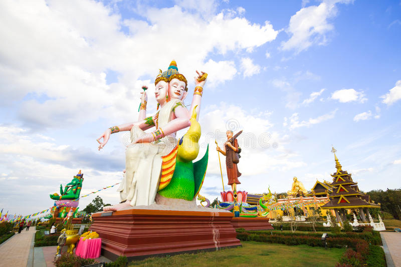 O Brahma o mais grande, deus hindu da criação fotos de stock royalty free