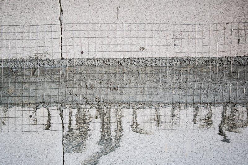 O branco esterilizou o bloco de cimento de pouco peso ventilado imagem de stock