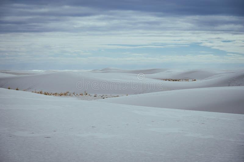 O branco lixa o monumento nacional fotografia de stock