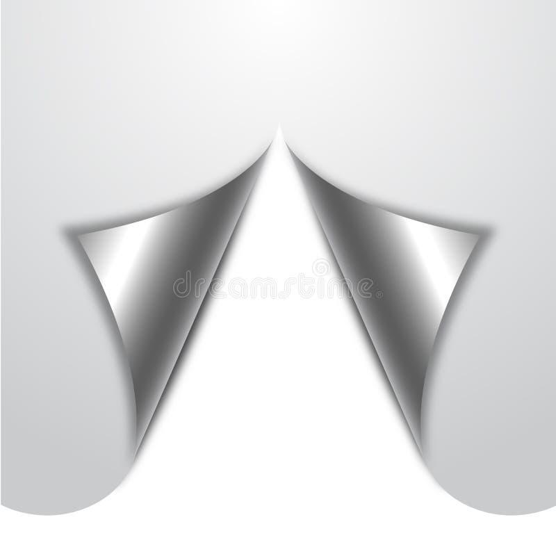 Download Papel ondulado branco ilustração do vetor. Ilustração de símbolo - 29827183