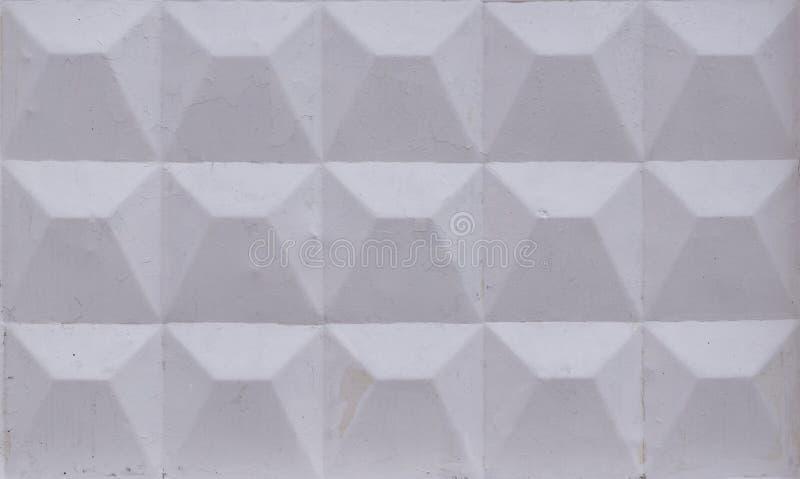 O branco pintado esquadrou o fundo Textura, teste padrão foto de stock royalty free