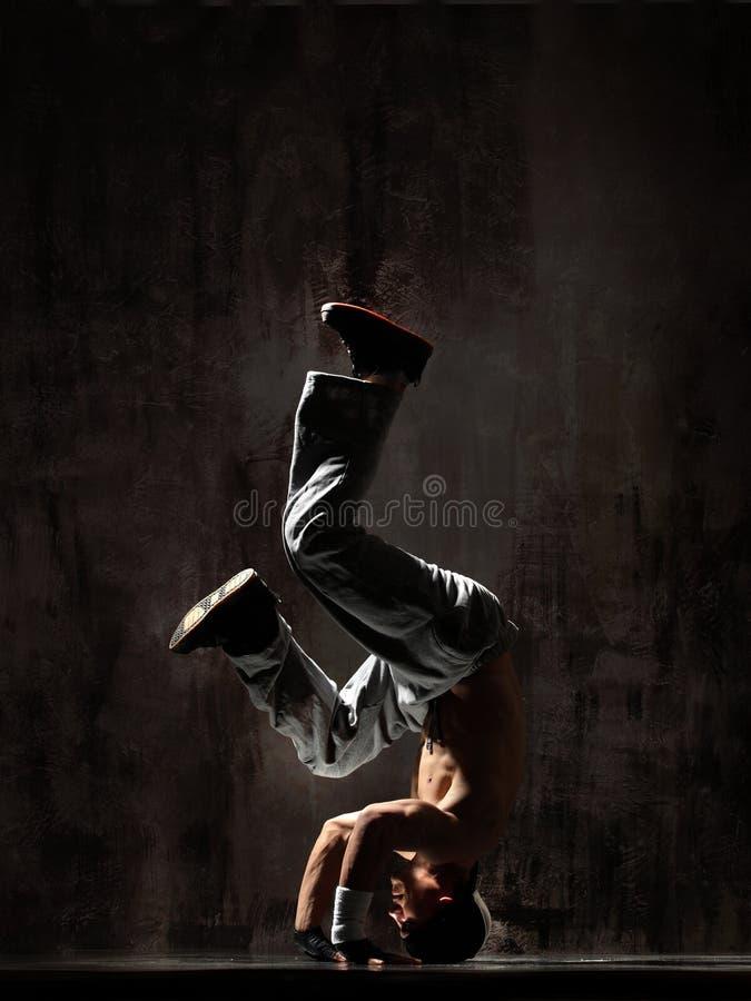O breakdancer fotografia de stock royalty free