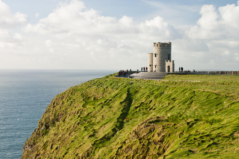 Download O'Brien's Tower On Cliffs Of Moher In Ireland. Stock Image - Image: 21682401