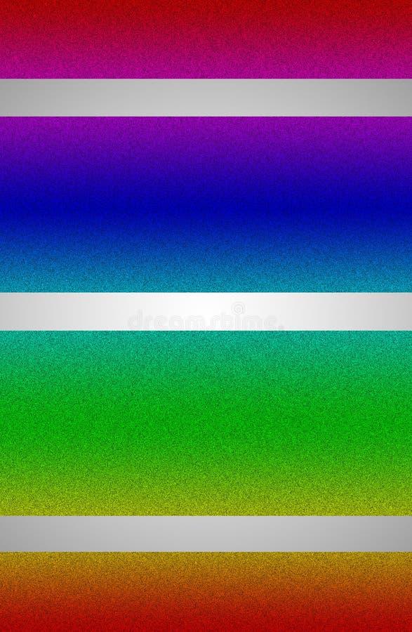 O brilho/ilustração abstrata Shinning com incandescência alinha transversalmente ilustração do vetor