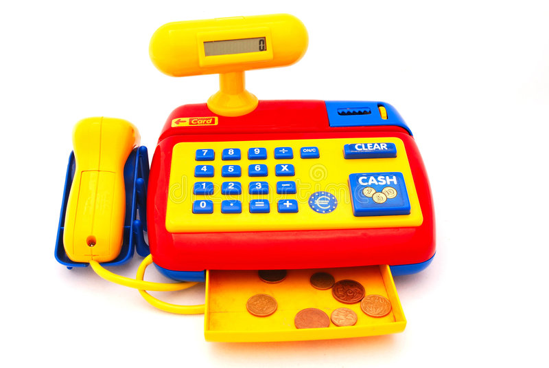 O brinquedo lavra imagem de stock royalty free