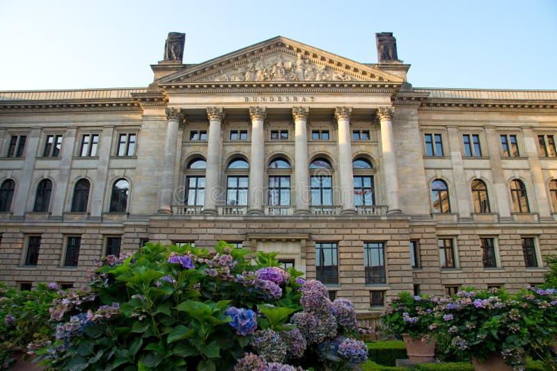 O Bundesrat em Berlim fotos de stock royalty free