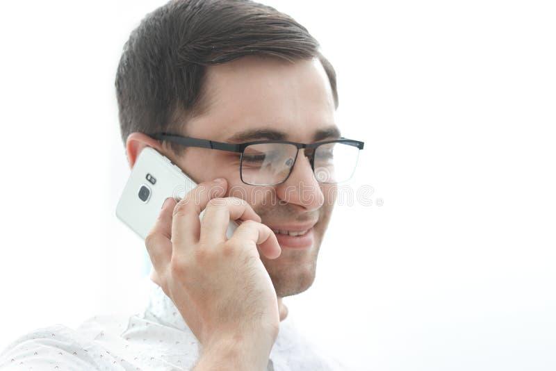o businessman mobile phone talking στοκ φωτογραφία με δικαίωμα ελεύθερης χρήσης