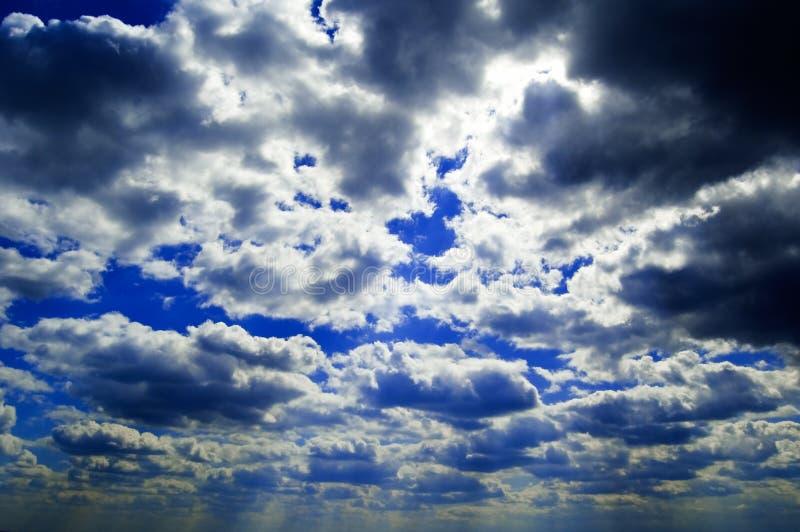 O céu. imagem de stock
