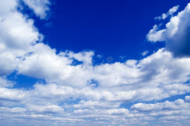 O céu azul. fotos de stock royalty free