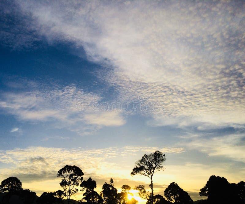 O céu bonito foto de stock royalty free