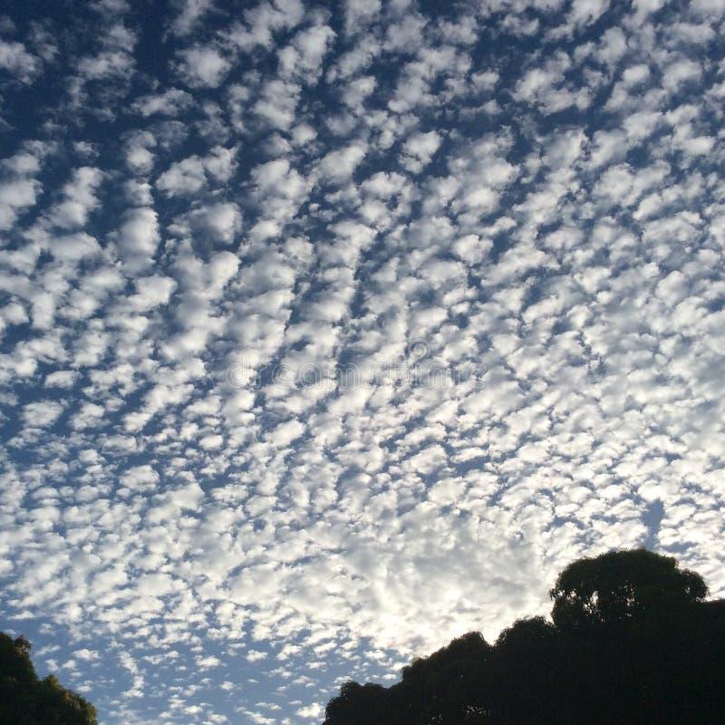 O céu bonito imagens de stock royalty free