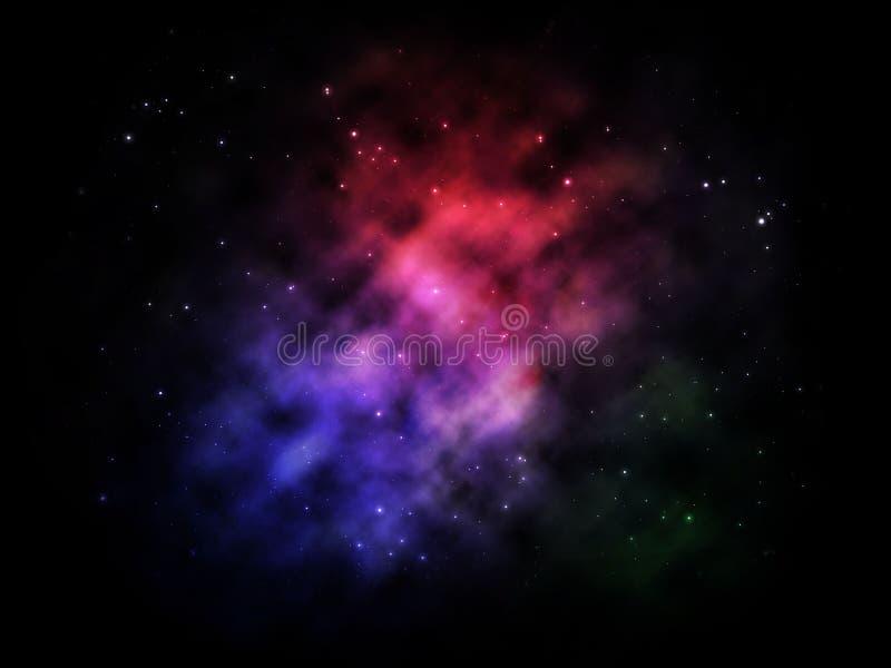 O céu da estrela foto de stock royalty free