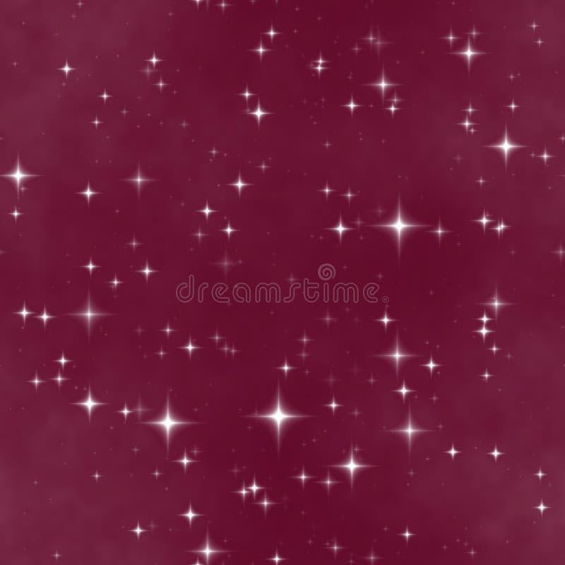 O céu da fantasia da noite da estrela ilustração royalty free