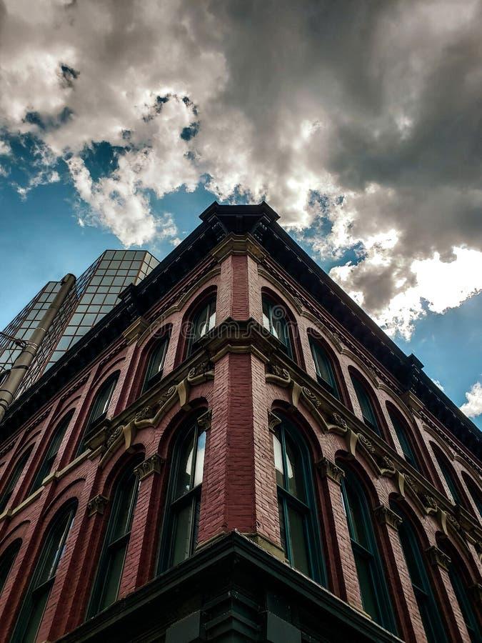 O céu de Ottawa imagens de stock