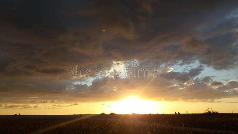 O céu espera foto de stock royalty free