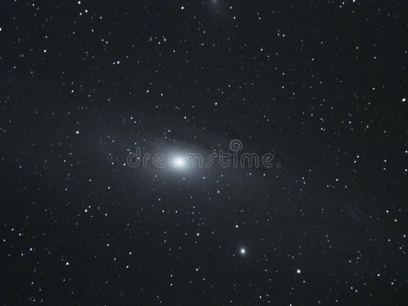 O céu noturno stars a galáxia do Andromeda fotos de stock royalty free